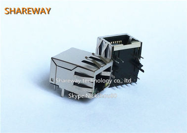 China Magnetisches 8P8C Ethernet modularer Jack/Rj45 Jack PWBs Rj45 mit Transformator usine